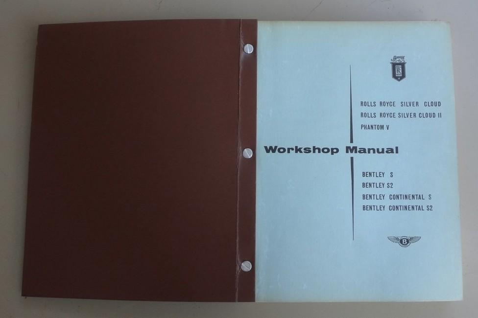 rolls royce phantom workshop manual