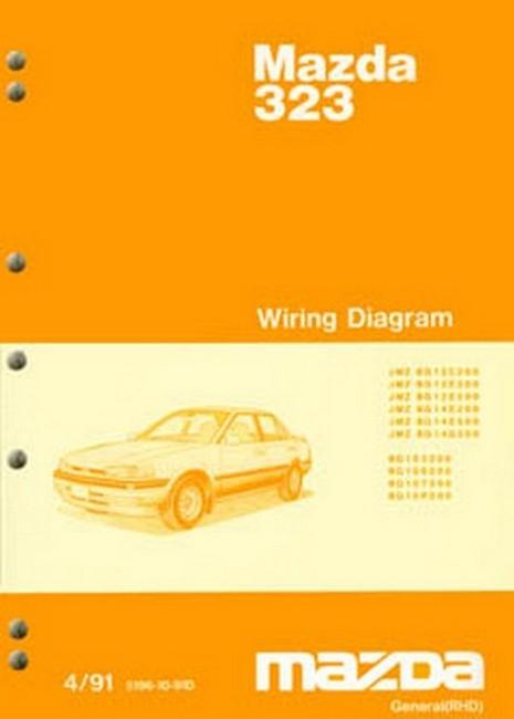 Mazda 323 & Astina BG Series 04/1991 on Repair Supplement