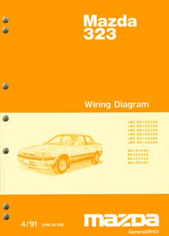 Product mazda 323 astina bg series 041991 on wiring diagram cheapraybanclubmaster Gallery