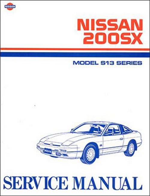 1997 nissan sentra/200sx repair shop manual original.