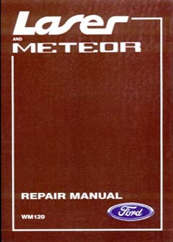 Ford Laser Meteor Ka Kb Ga Gb   Workshop Manual