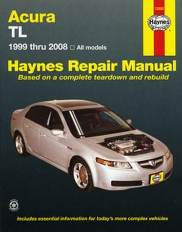Acura Honda TL 1999 2008 Haynes Repair Manual