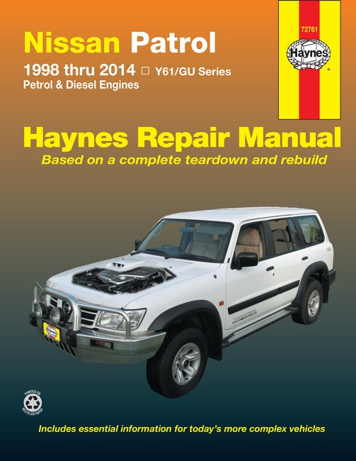 Nissan Mistral Diesel Service Manual